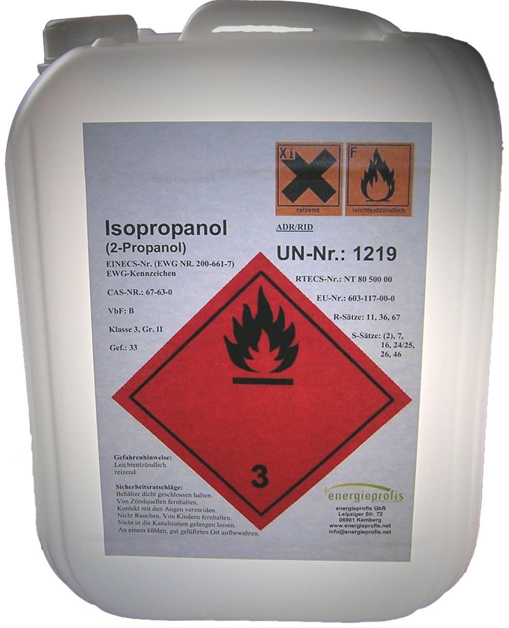 20 Liter Isopropanol 20,20 in Kanistern